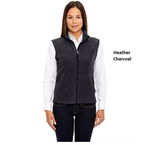 Core 365 Ladies' Fleece Vest