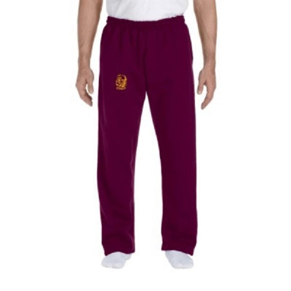 Open Bottom Sweatpants - Adult