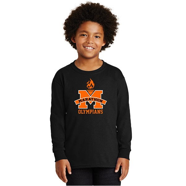 Ultra Cotton Long Sleeve T - Youth