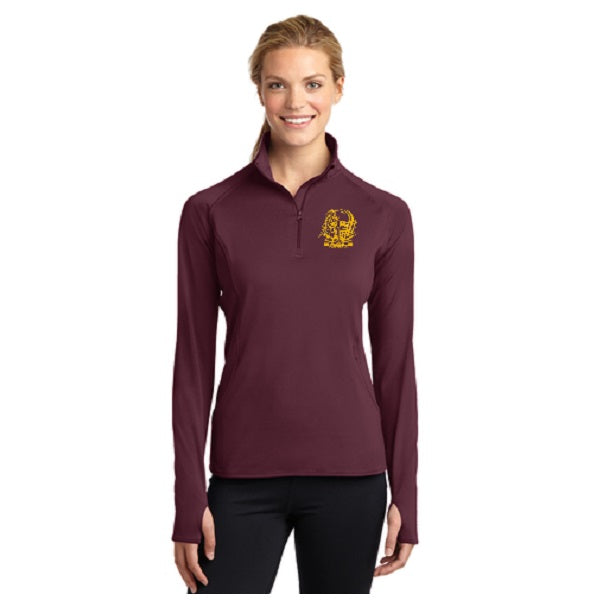 1/2 Zip  Pullover -  Ladies
