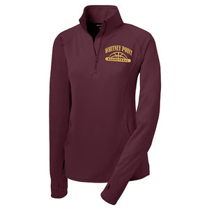 Ladies' 1/2 Zip Pullover