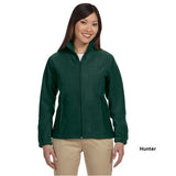 Harriton Ladies' Full Zip Fleece Jacket