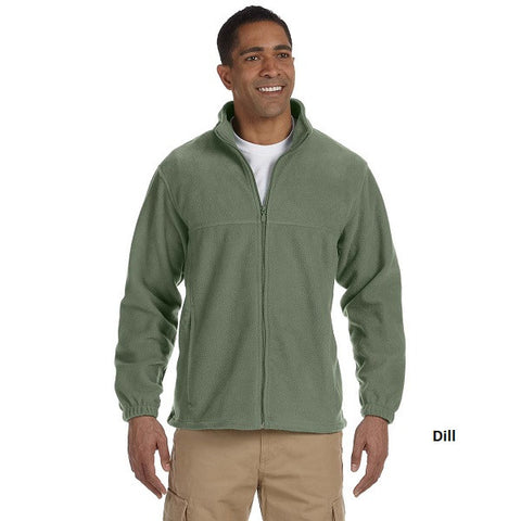 Harriton Men's Full Zip Fleece