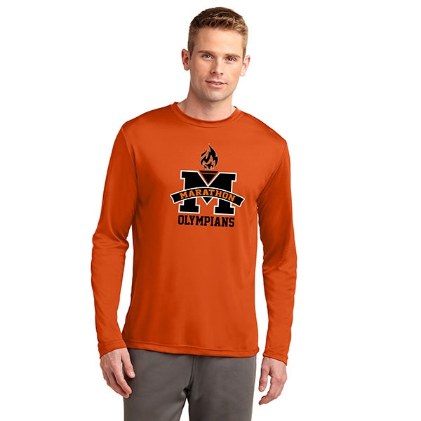 Men's Tall Long Sleeve Performance T
