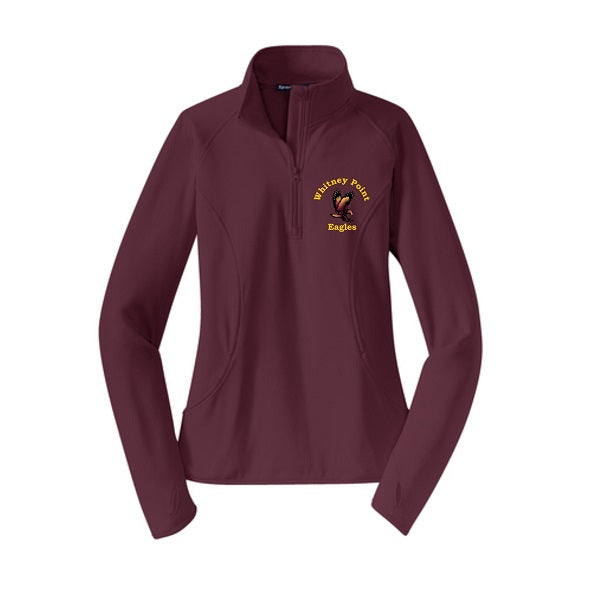 Ladies' Sport-Wick 1/2 Zip Pullover