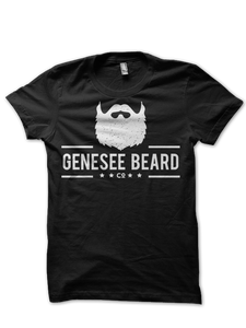 Genesee Beard Co. Black Tee - Genesee Beard Co.