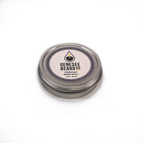 Natural Beard Balm - Genesee Beard Co.