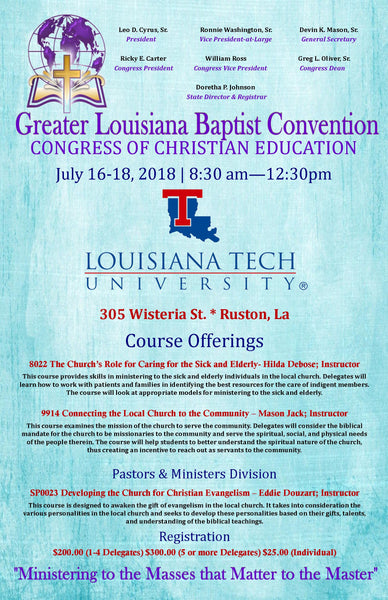 Greater Louisiana Baptist Convention