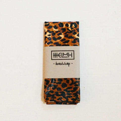 Jungle Leopard Head Wrap