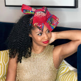 Vintage Leaf Head Wrap