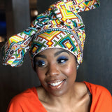Glam Patchouli Head Wrap