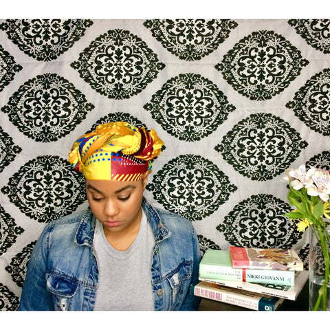 Zara Blocked Head Wrap