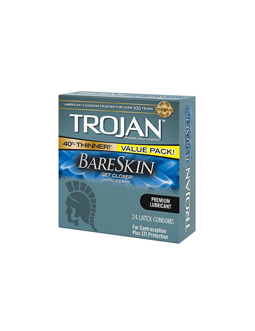 TROJAN | Bareskin Condoms | 24 Pack