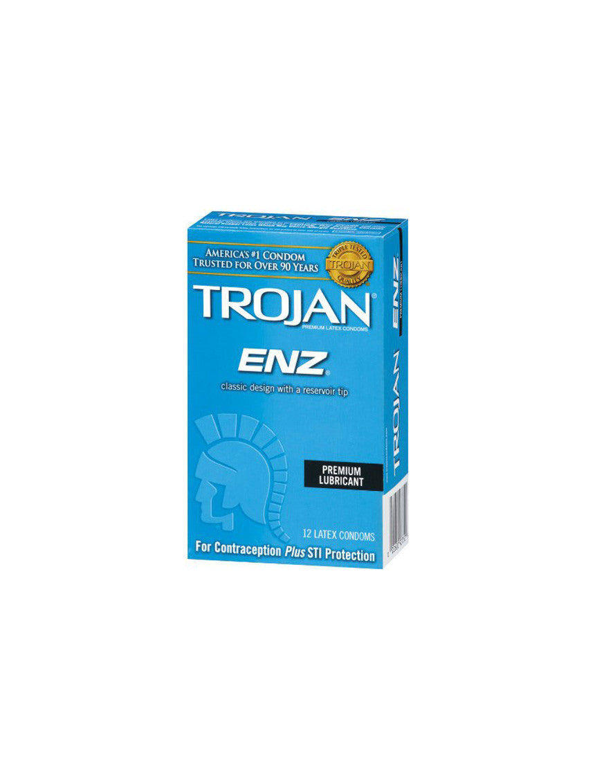 TROJAN | ENZ Condoms | 12 Pack