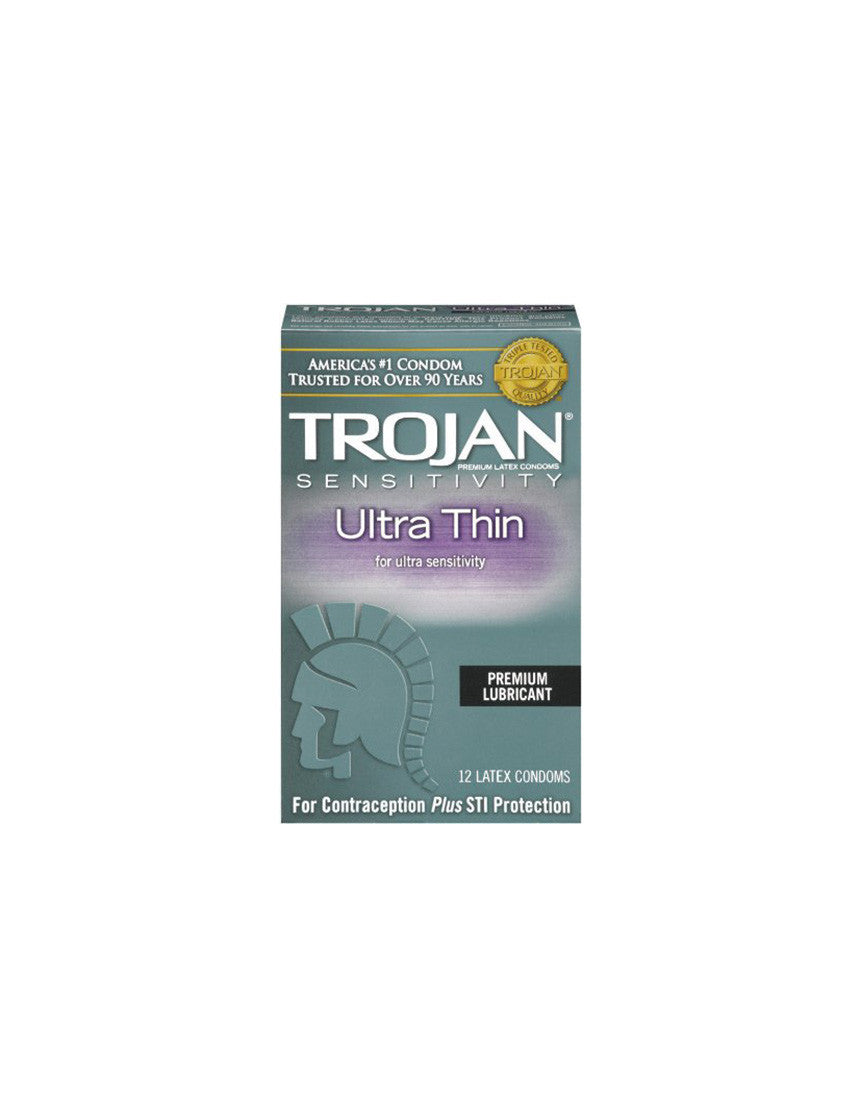 TROJAN | Ultra Thin Condoms | 12 Pack