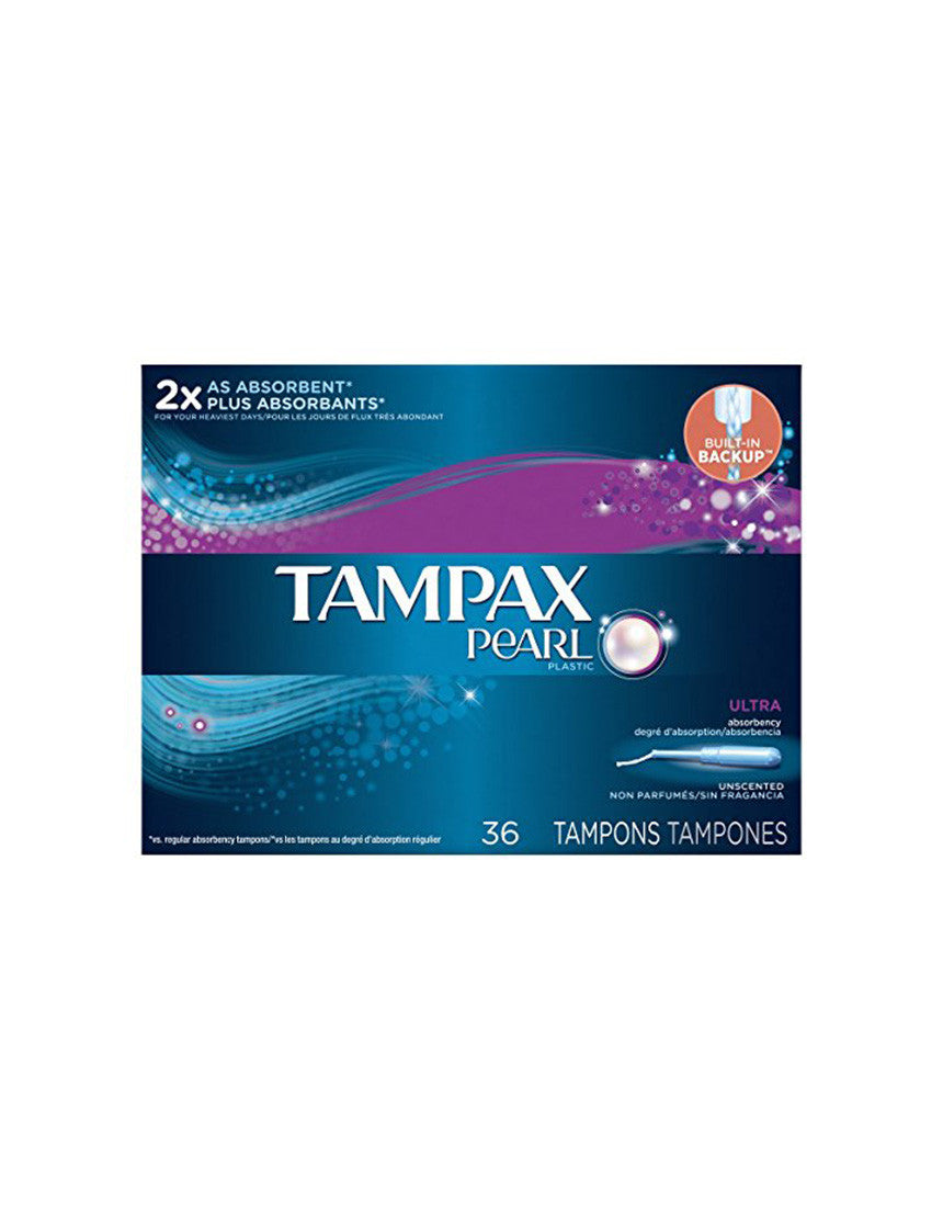 Tampax Pearl Ultra Tampons