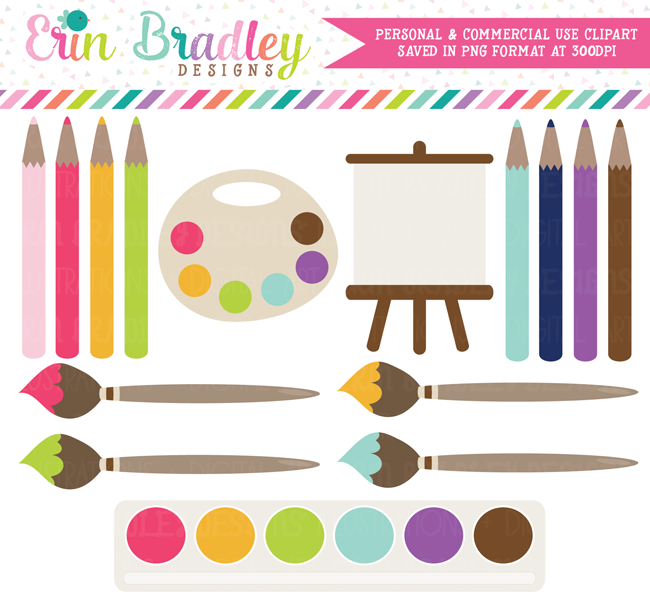 Art Painting Party Clipart