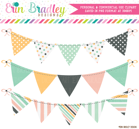 Commercial Use Bunting Graphics