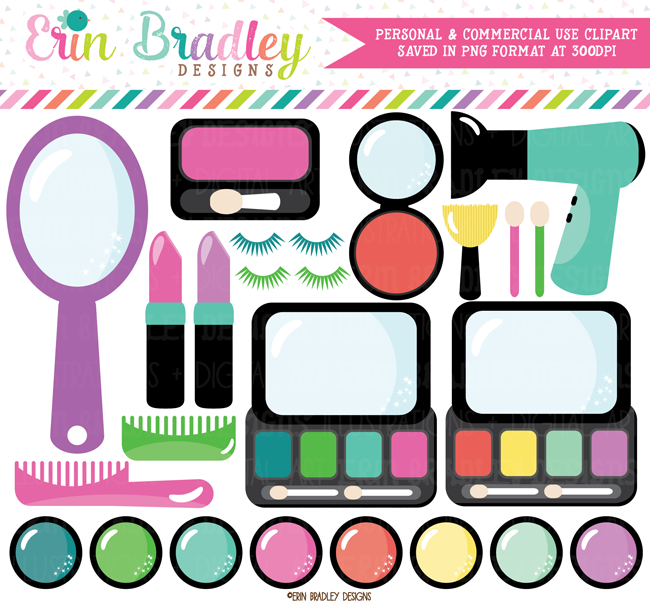 Beauty Shop Clipart Erin Bradley Ink Obsession Designs