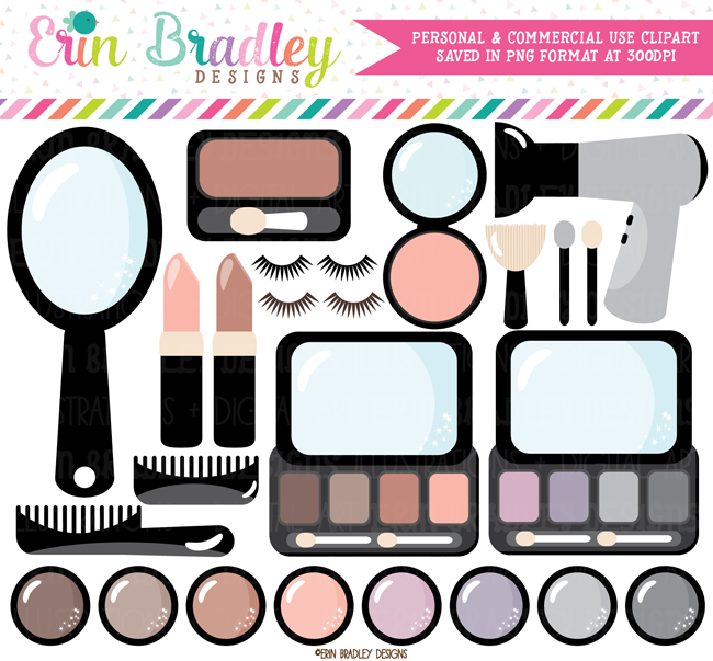 Beauty and Makeup Clipart