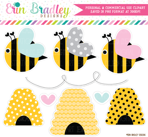 Bumble Bees Nature Clipart