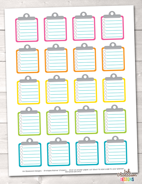 Washing Machines and Laundry Printable Planner Stickers ...