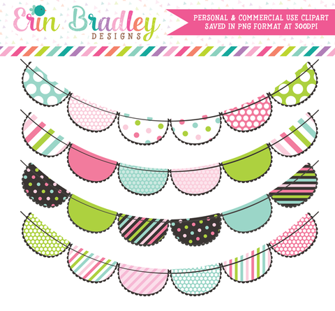 Colorful Multi Colored Clipart Banners