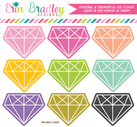 Diamond Clipart Graphics