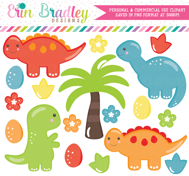 Dinosaur Boys Clipart Commercial Use Graphics