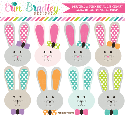 Easter Bunny Clipart Graphics