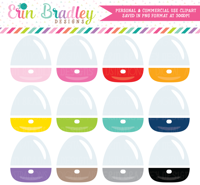 Essential Oils Diffuser Clipart Set