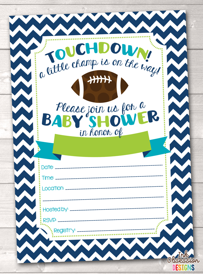 photo relating to Printable Baby Shower Invitations Boy referred to as Soccer Boys Boy or girl Shower Invitation Printable PDF