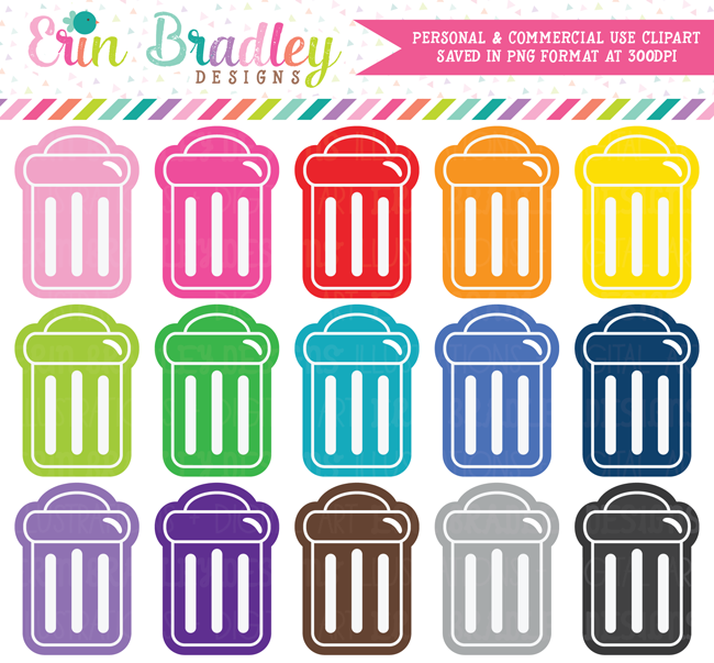 Garbage Can Clipart