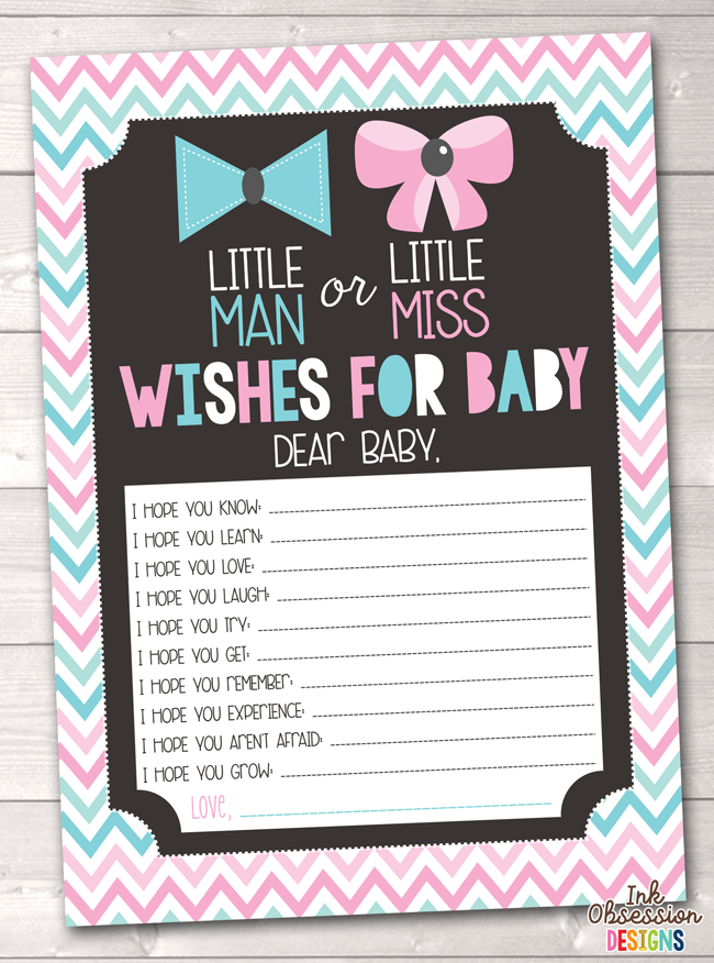 picture regarding Gender Reveal Printable referred to as Gender Explain Occasion Purple Blue Chevron Printable Boy or girl Would like Playing cards