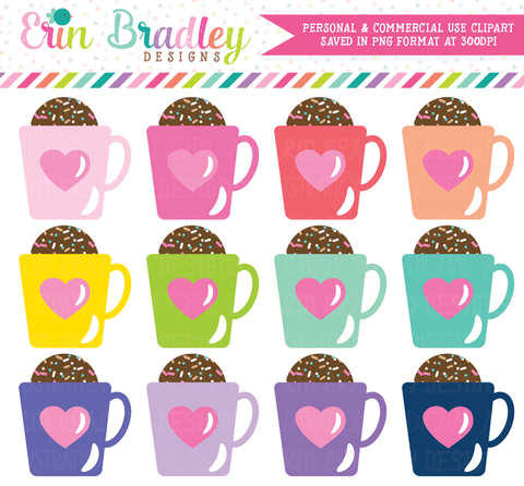 Hot Chocolate Bombs Clipart