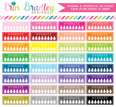 Hydrate Clipart Graphics