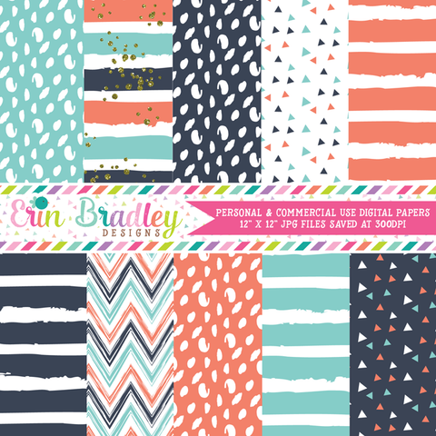 Just Bluey Digital Paper Pack