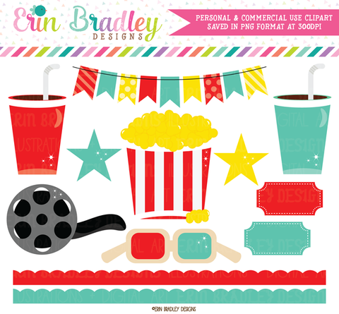 Movie Theater Clipart Graphics