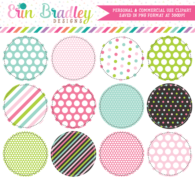 Multi Colored Circles Clipart