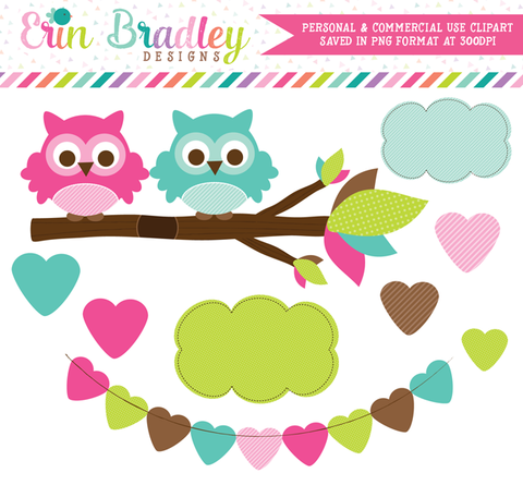 Owl Love You Forever Clipart