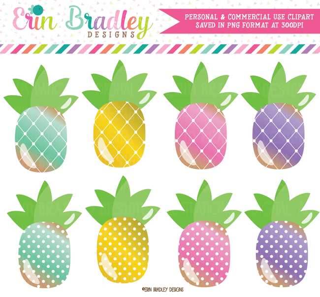 Pineapples Food Clipart Graphics