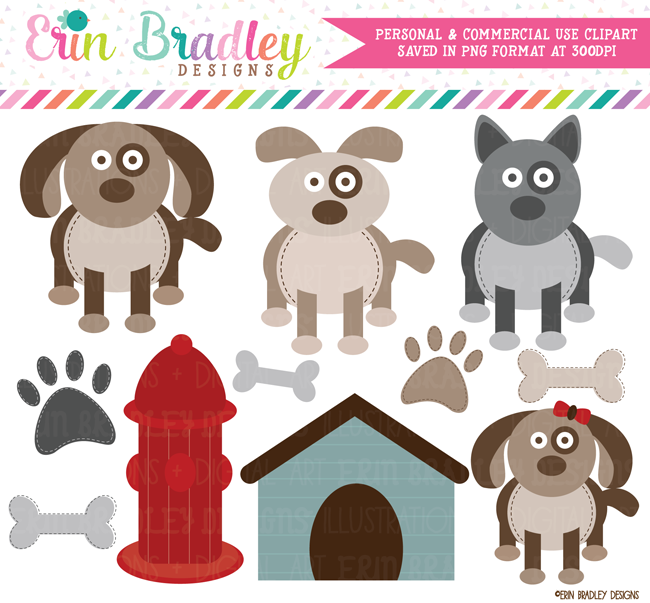 Puppy Dog Clipart Graphics