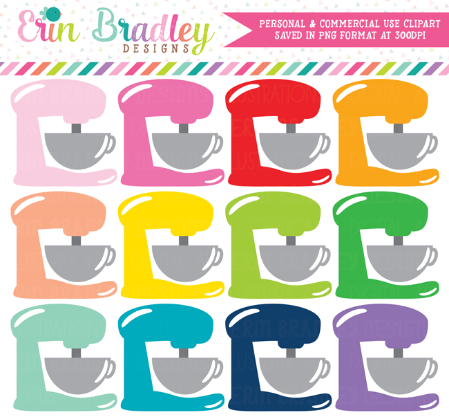 Stand Mixer Clipart