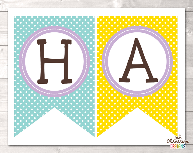 picture about Birthday Banner Printable identified as Blue Sun Pleased Birthday Printable Social gathering Banner