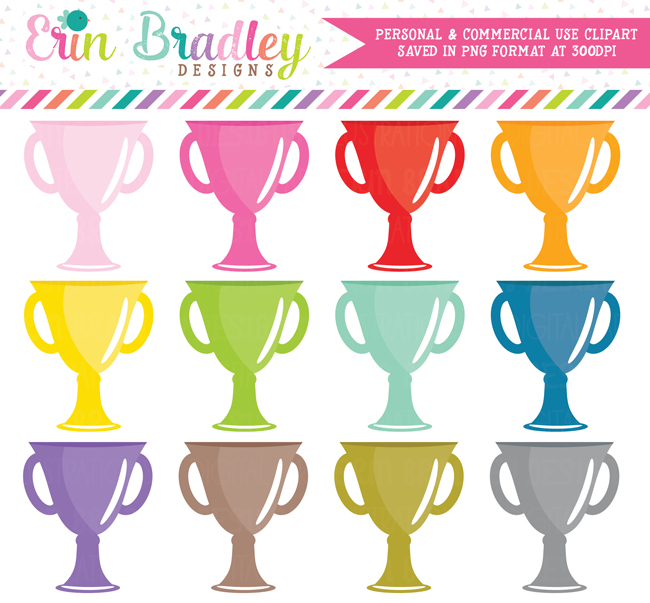 Trophy Award Clipart