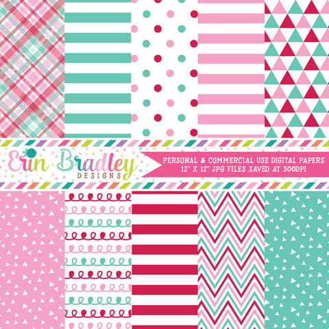 c5ad29129 Holiday Digital Papers – Erin Bradley Ink Obsession Designs