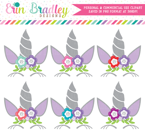 Unicorn Purple Clipart