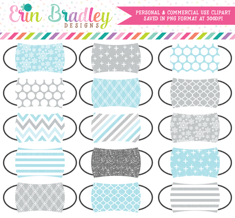 Winter Wonderland Mask Clipart