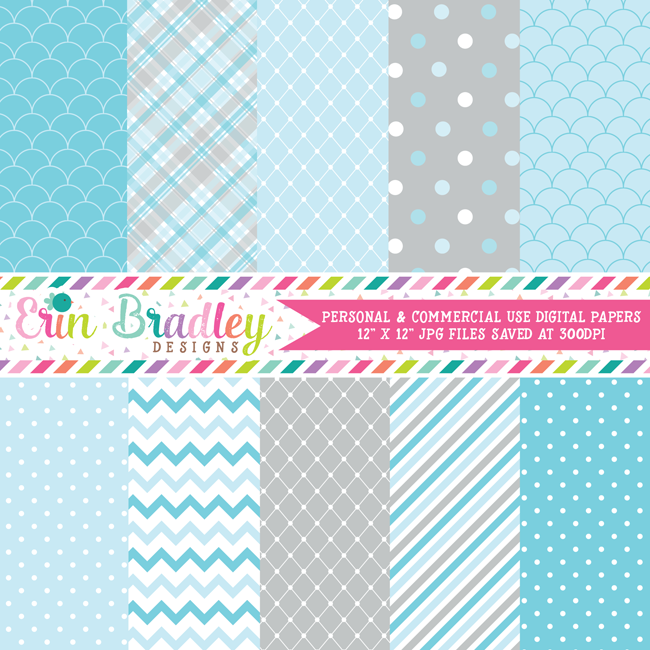 Winter Wonderland Digital Paper Pack