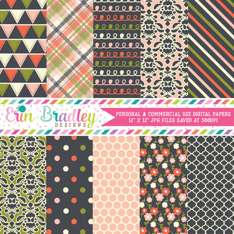 Wonderful Collection Digital Paper Pack